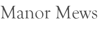 Manor Mews Norfolk Holiday Cottages | Luxury self-catering Norfolk holiday cottages Logo