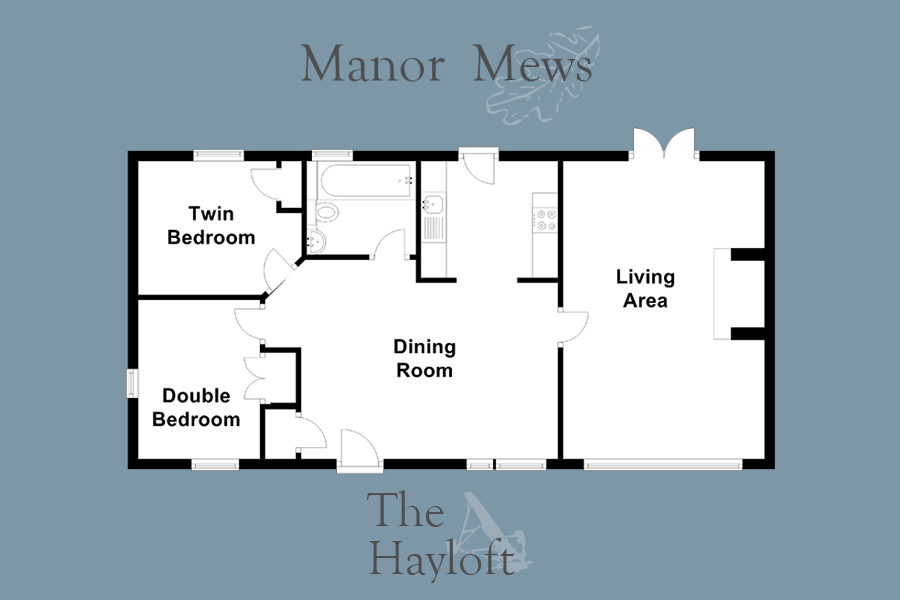 The Hayloft at Manor Mews Norfolk Holiday Cottages - Luxury self-catering Norfolk cottage holidays
